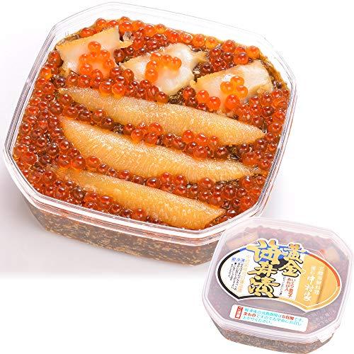 釜石中村家の「黄金海寿漬」530g(約4-5人前)海鮮丼 いくら 数の子 あわび めかぶ 冷凍 1032262