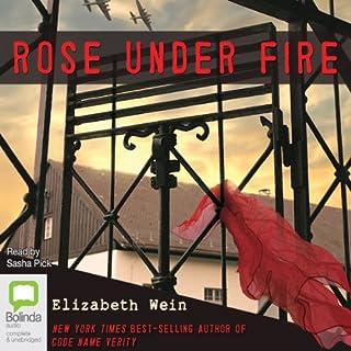 Rose Under Fire audiobook cover art
