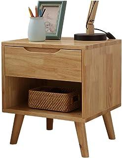 z76001231 Gabinete de Noche de Estilo escandinavo Mini gabinete de Almacenamiento Simple con cajones Gabinete de Noche par...