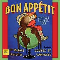 Bon Appétit: Vintage Poster Art 2022 Calendar