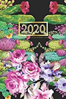 2020 Planner Weekly and Monthly: 2020 to Dec 31, 2020: Weekly & Monthly Planner + Calendar Views | Inspirational Quotes and Cactus Cover (2020 Planner Series) 6x9 120