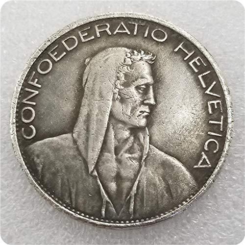 SFDGBTH 1928-B Insignia de monedas suizas de copia
