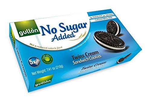 Gullon No Sugar Added Twins Creme Sandwich Cookies (210g)