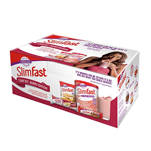 Slimfast - SlimFast Starter Packs - 7 Day Berry Edition