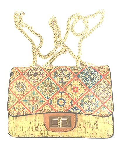 Bolsa de corcho portugués para mujer de Cortiça J. S.Cork Portugueses JS3618