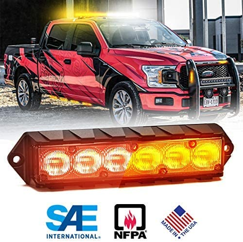 Feniex Fusion Surface Mount Dual Red LED Color Max 82% OFF 40 Year-end annual account Amber