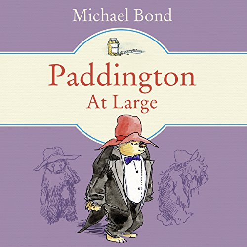 Paddington at Large audiobook cover art