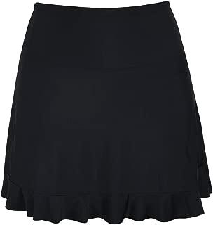 Firpearl Women's Long Swim Skirt High Waist Bikini Bottom Modest Swimsuit Bottom