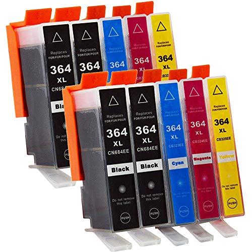 win-tinten Remplacement des cartouches d'encre compatibles pour HP 364 364XL avec HP Deskjet 3070A 3520 OfficeJe
