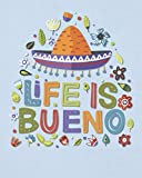 Life is Bueno: Life is Good Happy Celebration Notebook for Women Men - Fun Cinco de Mayo Gifts - Blank Wide Ruled Journal with Bonus Password Tracker - 8'x10'