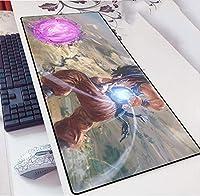 ゲーミングマウスパッドドラゴンボールDragon BallゲームのキーボードマットカフェマットマウスパッドのためにコンピュータのデスクトップPCのマウスパッド拡張 大規模なマウスマット おしゃれ 防水 マウスパッド-Dragon_Ball_03_800*300*3MM
