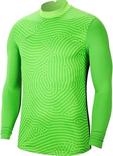 NIKE Gardien III Goalkeeper - Camiseta de Manga Larga Unisex para niños, Unisex niños, BV6743-398, Verde y Verde, 10/12 años
