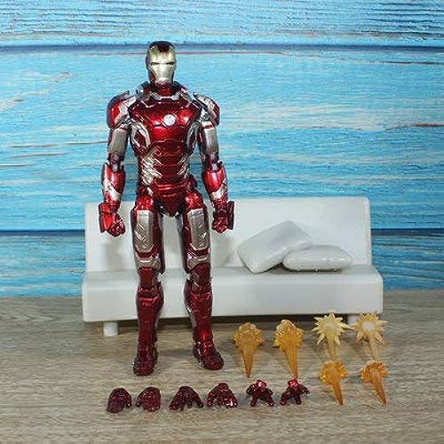 Wild MD Marvel Action Figurines Marvel Legends Endgame 6.5 \Figurines Articulées à Del pour La Décoration De La Voiture Collection Jouet 8