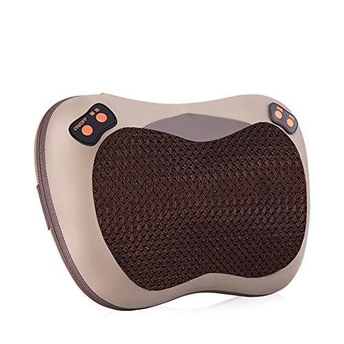 Preisvergleich Produktbild LTLGHY Nackenmassagegerät,  Elektrische Massagegerät Mit Wärmefunktion Für Schulter Nacken Rücken,  Shiatsu Massagekissen Wärmefunktion Massager,  3D Rotation Masseur Massage Für Haus Büro Auto
