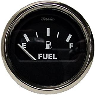 Moeller Marine Electric Dash Mounted Fuel Gauge (33 to 240 Ohm's)