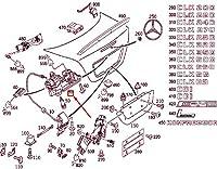 MB CLK C209 リア リッド ハンドル リセス A2037500793 NEW GENUINE