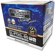 Pro Select Battery (プロセレクトバッテリー) GL-PTX5L-BS 【YTX5L-BS GTX5L-BS FTX5L-BS互換】 液入充電済MFジェルバッテリー 安心信頼業界最長2年保証付き 長持ち バイクバッテリー すぐ...