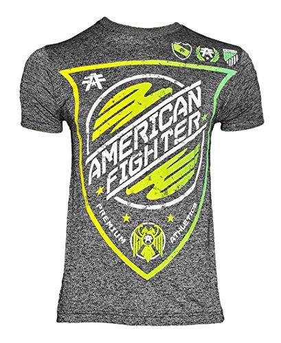 American Fighter Hombres del Lago Superior T Camisa Negro