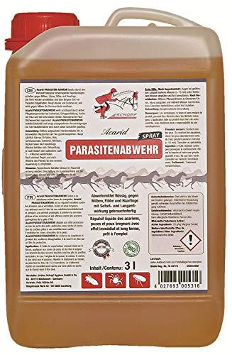 SCHOPF 301343 Acarid Parasitenabwehr für Pferde, 3 l, BIO-KONFORM