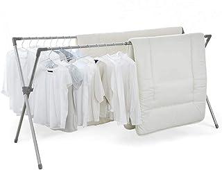 アイリスオーヤマ 洗濯物干し 室内物干し 外干し 布団も干せる 簡単組立 伸縮多機能 布団4枚分 幅約130~225×奥行約90×高さ約113cm CSX-230