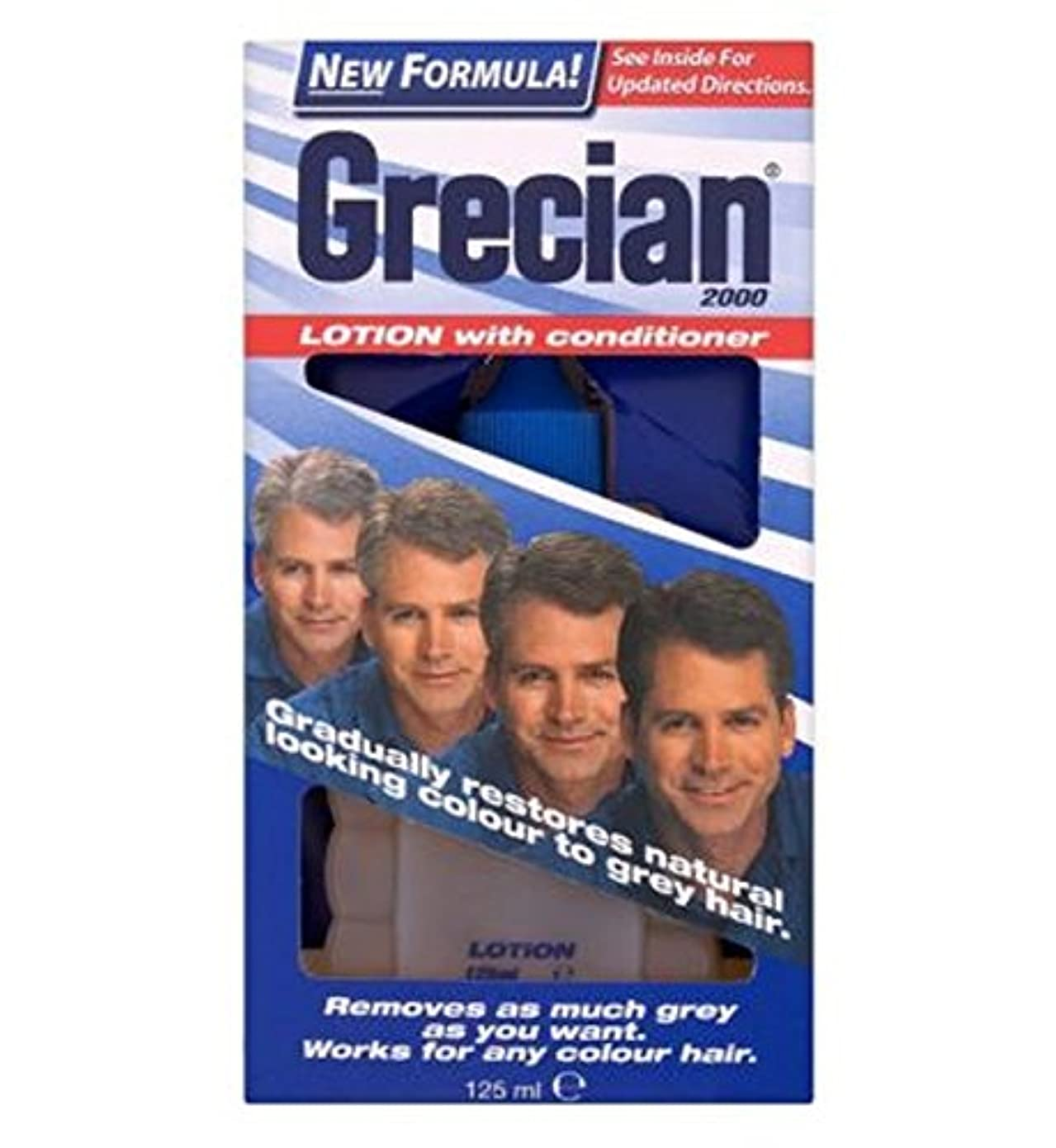 憲法ヒールそうGrecian 2000 Men's Hair Colour Lotion - ギリシャの2000メンズヘアカラーローション (Grecian) [並行輸入品]