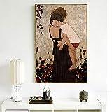 KWzEQ Quadro su Tela Poster di Quadri materni e Decorazioni per la casa per soggiorno70x105cmPittura Senza Cornice