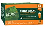 Seventh Generation Trash Bags, Tall Kitchen, 13-Gallon, 30-Count Boxes (Pack of 12)