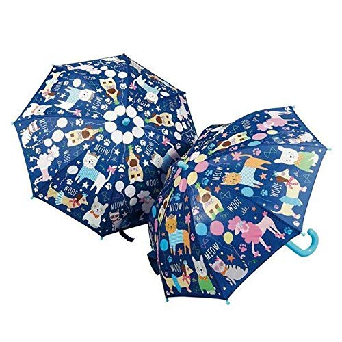 Floss & Rock (Dogs and Cats) Color Changing Umbrella Pets Print Standard