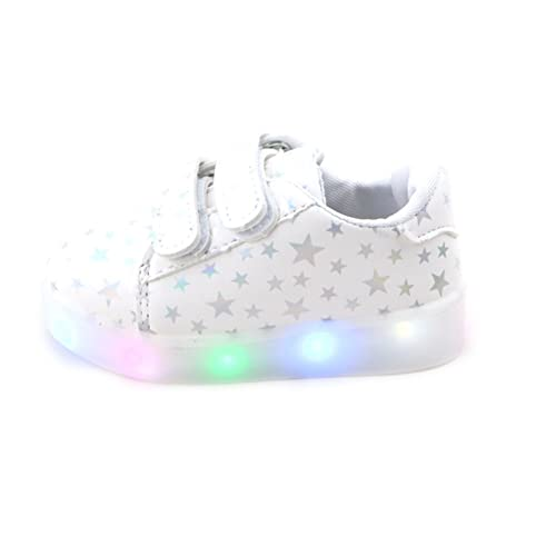 Feicuan Child Boys Girls LED Shoes Light Up Flashing Sports Sneaker 124752345