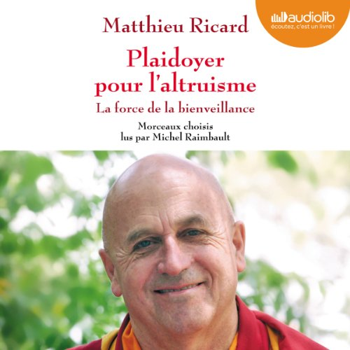 Plaidoyer pour l'altruisme audiobook cover art