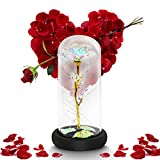 Galaxy Flower Rose Gifts Artificial Flower Forever Gifts for Girlfriend Mom Birthday Valentine...