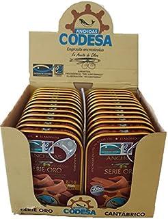 comprar comparacion Anchoas Codesa Serie Oro 8/10 filetes 55 gramos PACK 24 UNIDADES