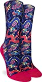 Good Luck Sock Women's Chinese Dragons Socks - Pink, Adult Shoe Size 5-9