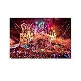 HZHI Tomorrowland Mainstage 16 Trendige Mode-Anfertigung