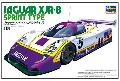 Hasegawa ha202811: 24Escala Jaguar XJR-8Sprint Tipo Modelo Edificio Kits