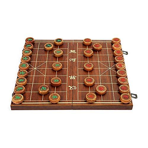 Xiangqi chinesische Schachspiel mit Folding Box und Schachbrett, Zug Ihr Denken, die Wahl Travel Game Set kaikai