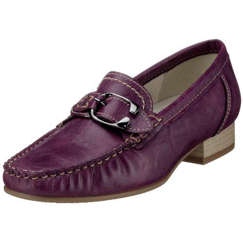 Jenny Atlanta 4-50116-06, Damen Mokassins, rot, (purple 06), EU 36 2/3, (UK 4)
