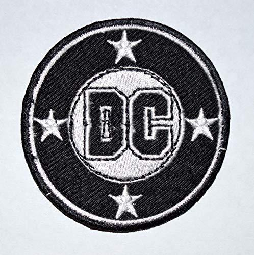 DC Comics Company - Parche bordado con logotipo de la película Classic