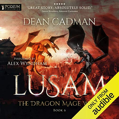 Lusam: The Dragon Mage Wars Book Six cover art