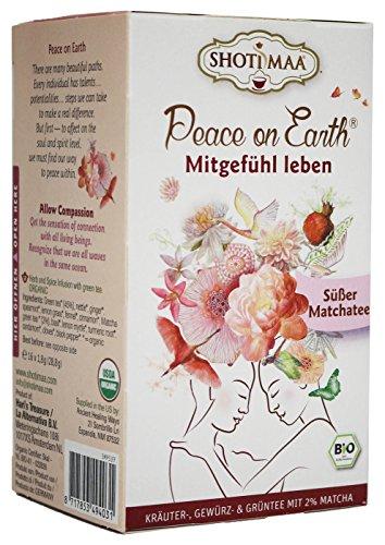 Shoti Maa Bio PEACE ON EARTH Mitgefühl leben - Süßer Matcha (16 x 1,8g)