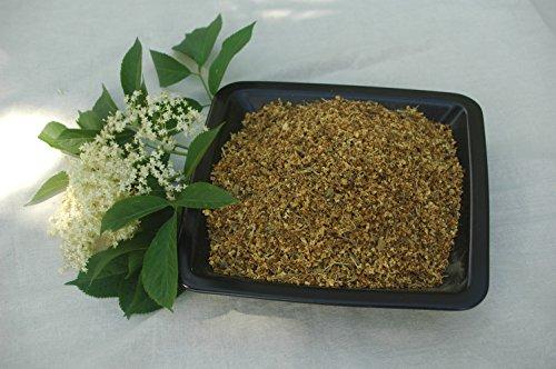Naturix24 – Holunderblüten gerebelt – 100 g Beutel