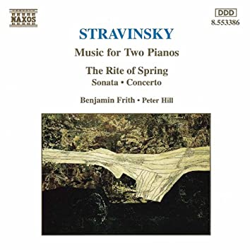 STRAVINSKY: Music for Two Pianos