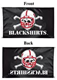 WinCraft NCAA University of Nebraska 02241115 Deluxe Flag, 3  x 5