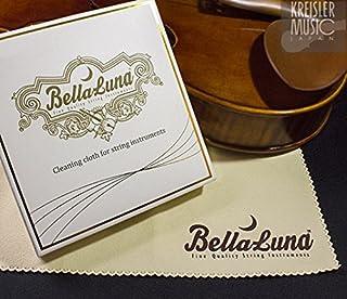 弦楽器専用 クロス BellaLuna 上質マイクロファイバー製 美しいBOX入り ギフトにも♪