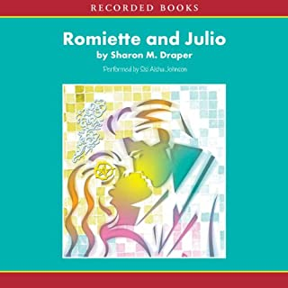 Romiette and Julio audiobook cover art