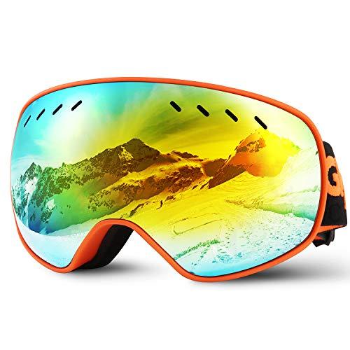 Glymnis Masque de Ski Lunettes de Ski Hommes...