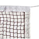 DOURR Badminton Tournament Net with Rope Cable (20 FT x 2.5 FT) (with Nylon Rope Cable)