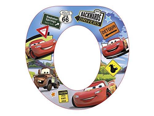 Lulabi 8052 Réducteur WC Soft Disney Cars Nw en plastique et PVC Articles pour enfants, multicolore