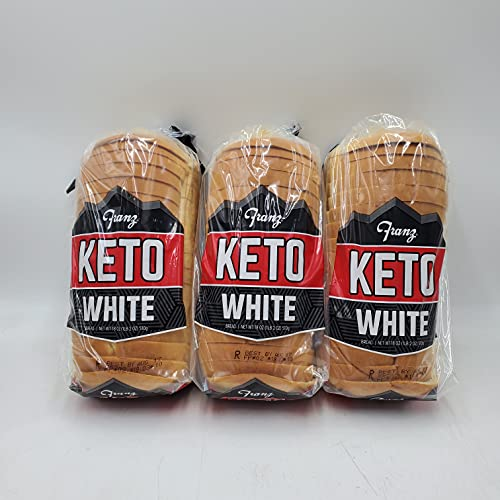 Keto Bread, 0 (Zero) Net Carbs Per Serving, 3 Loaves for your Keto Diet