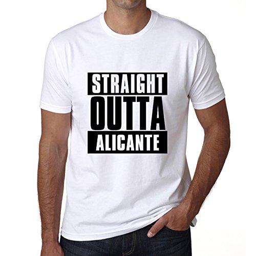 Straight Outta Alicante, T-Shirt, T-Shirt Herren, Geschenk T-Shirt